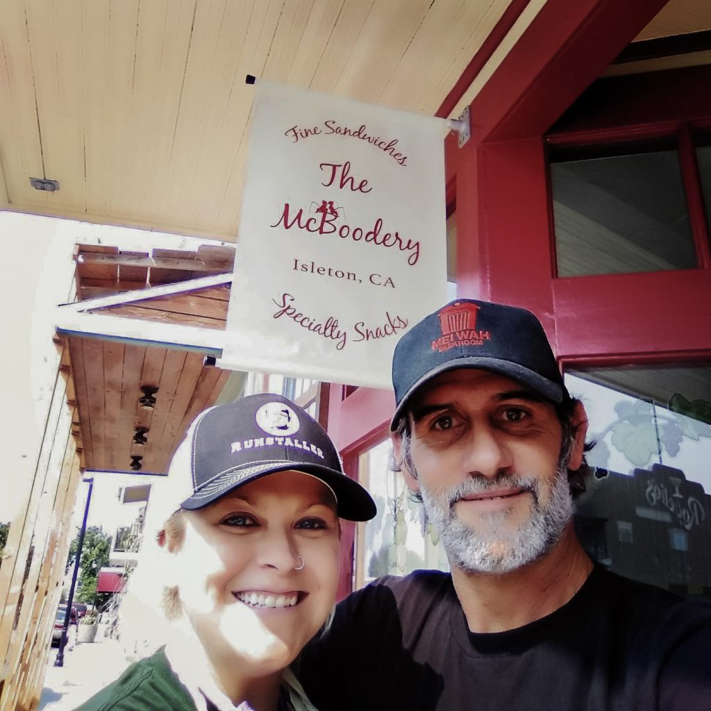 Sarah McGee and Mike Abood owners of The McBoodery